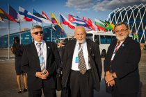 Czech delegation in front of the conference centre