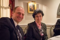 Czech Ambassador to the US Petr Gandalovic and Senator Alena Gajduskova