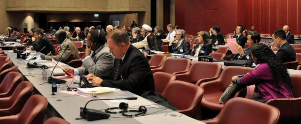 IPU Standing Committee on Peace and International Security. Photo © IPU/Giancarlo Fortunato