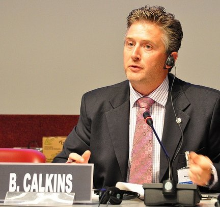 Co-rapporteur Blaine Calkins MP (Canada)