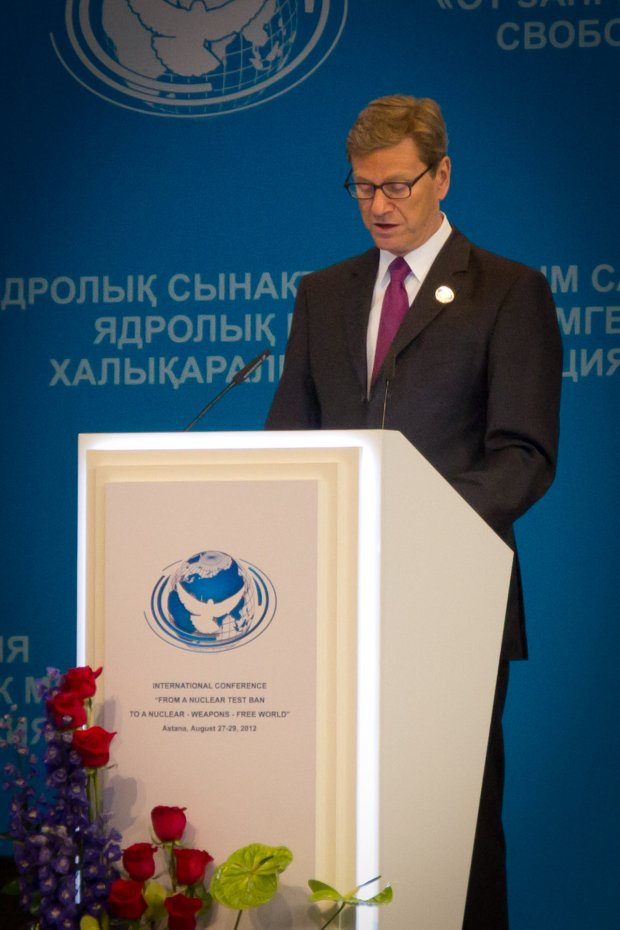 Guido Westerwelle, German Foreign Minister